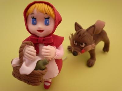 クレイクラフト 柴犬サイズのプチ狼