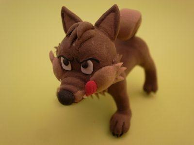 狼 / クレイクラフト