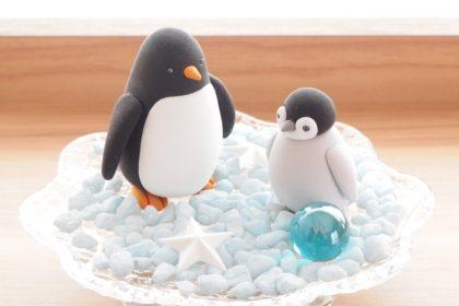 子供ねんど教室 親子ペンギン / クレイクラフト